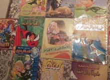 قصص ومجلات للبيع