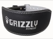 حزام للنادي و كمال الجسم من شركة grizzly