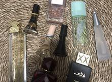 9 women perfumes almost full