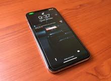 iphone xs max 256gb ابيض نظيف