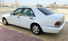 White Mercedes Benz S 320 1998 for sale