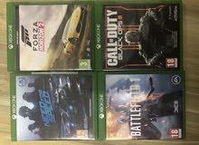 اشرطه Xbox one للبيع
