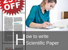How to write Scientific Paper Course