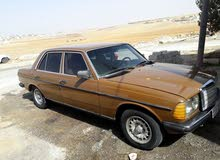 Manual Brown Mercedes Benz 1980 for sale