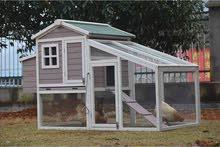 بيوت خشبية للدجاج و الأرانب Chicken Coops & Rabbit Hutches
