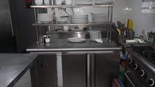 معدات مطاعم و كافيه للبيع