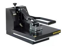 مكبس حراري للطباعة على المسطحات