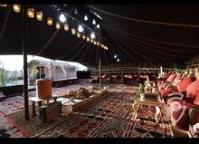 مخيم للايجار الف ليله وليله فخم