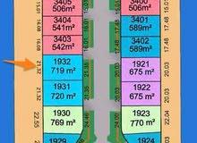 أرض للبيع في صباح الاحمد البحرية المرحلة الثالثة C   رقم القسيمة : 1932