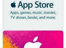 بطاقات play store +apple store  gift card بأفضل الأسعار