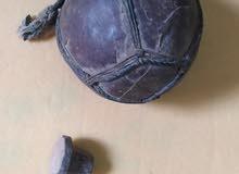 قلة اثرية من موريتانيا مصنوعة من جلد الجمل تستعمل لحفظ الدهون الحيوانية  تحفة جم