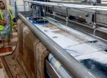 تصنيع ماكينات غسيل سجاد آلى خط كامل