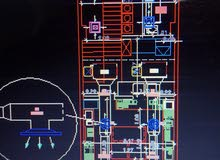 AC Duct interior designer Auto CAD for villa, shops, offices and buildings