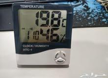 مقياس حرارة ورطوبة لغرف الانتاج