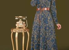 فستان شتائي تركي