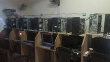 اجهزة كمبيوتر العاب كاونتر محل كامل للبيع 14 جهاز السعر قابل للتفاوض
