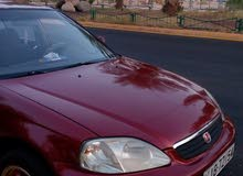 Automatic Maroon Honda 2000 for sale
