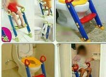 كرسي تعليم الطفل الحمام