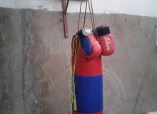 كيس الملاكمة  القفازات