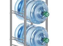 Water Bottle Storage Rack Silver 135 cm