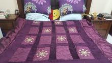 مفرش سرير حريري ... و بطانية كبيرة