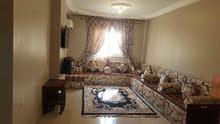 شقه فندقية ايجار مفروش صف تاني كورنيش المعادي فيو النيل موقع متميز جدا