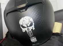 Helmet hjc punisher marvel