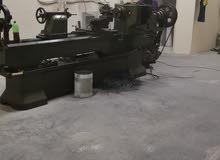 للبيع ورشة خراطة وتشكيل المعادن وتصنيع القواليص Engineering Turning and steel fabrication workshop