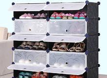 منظم احذية وحامل موبايل وايباد