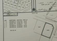 للبيع ارض سكنية كورنر بالمعبيلة الثامنة قريب جامع الصمد