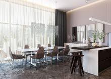 محلات ومكاتب للتمليك بالخوير موقع حيوي وممتاز علي شارع دوحة الادب للبيع