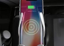 شاحن سيارة لاسلكي ذكي مستشعر للأشعة تحت الحمراء قوة 10 واط متوافق مع جميع انواع