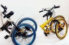 دراجة هوائية تنطبق