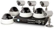 8 كاميرات مراقبه HD مع التركيب