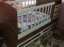 بيع سرير طفل تصلح لعمر خمسة سنوات