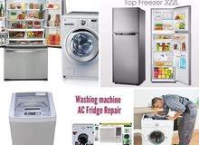 washing machine and fridges repairing