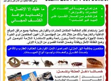 مكافحة الحشرات والقوارض والصحة العامة والسلامة الغذائية