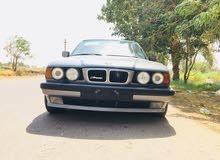 BMW 91 رقم بغداد فول 525 أوتو محرك مسكر عدل لون فيلي
