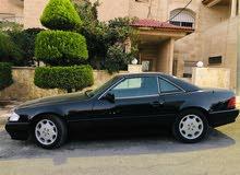 مرسيدس SL500موديل 1995