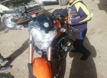 مكنه بانيلي موديل 2014 حاله ممتازه جدا سعه موتور200cc