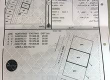 ارض للبيع 1200م جعلان بني بو علي