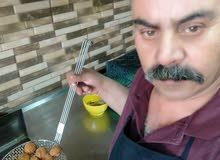 انا طباخ ومعلم حمص فول فلافل وابحث عن عمل