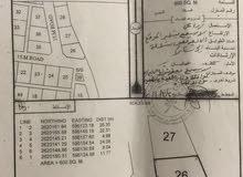 ارض زراعيه للبيع ممكن تتحول سكني مساحه 600 في حي عاصم