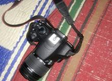 كاميرا كانون 1200ديكاميرا 1200D عدسه18-55 عدسه80-200 ستاند شاحنه  جنطه بطاريه دف