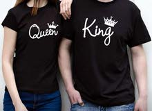couple T-shirt new
