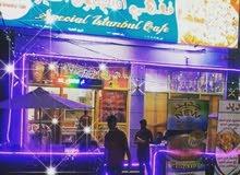 مطعم للايجار جاهز في صحار جنب الحديقه