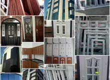 All tips of windows and doors upvc and aluminum and carpentry work