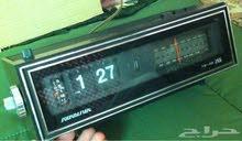 ساعة راديو مع منبه قديمة نادرة