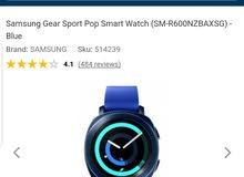 للبيع ساعة سامسونج جير الذكية جديد بالكرتون