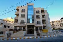 شقة فاخرة للبيع 125م طابق ثالث+رووف 75م في ربوة عبدون